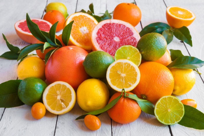 Foods that Help Reduce Anxiety - Citrus fruits