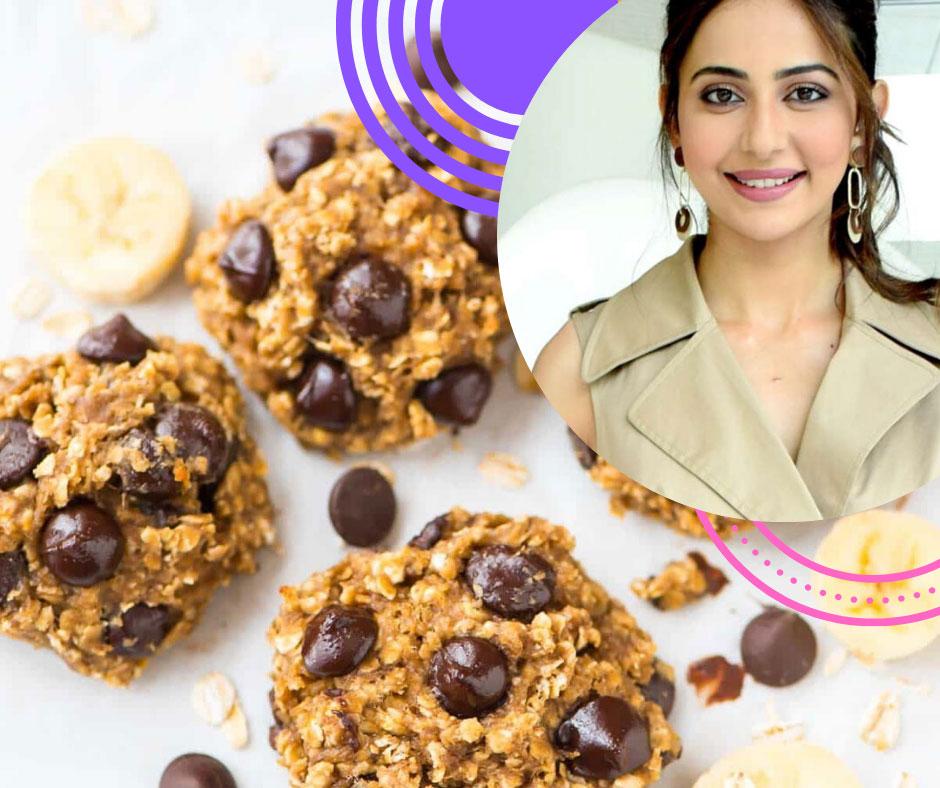 Healthy Chocolate Oatmeal Banana Cookies Recipe