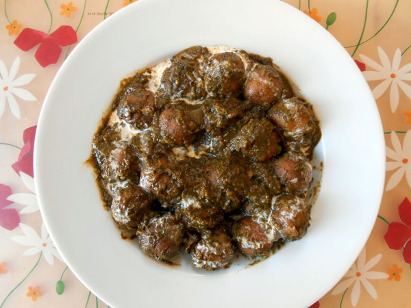 Palak Kofta Curry Recipe 3