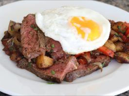 Steak And Eggs Recipe